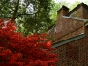1750 House ablaze with red azalea