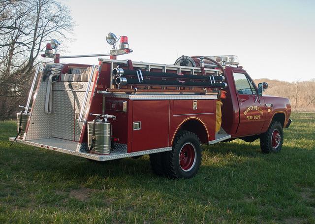 Small fire truck