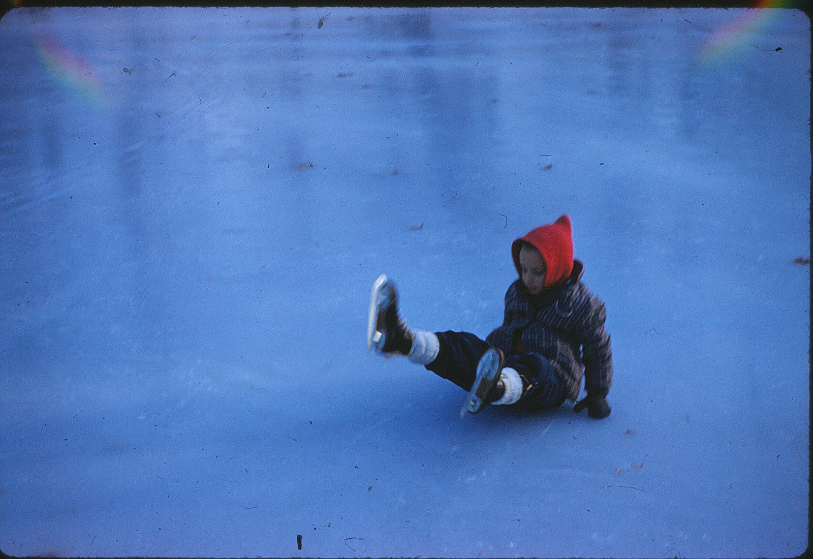 Skating on Duckpond