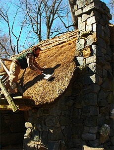 Faerie Cottage Thatching