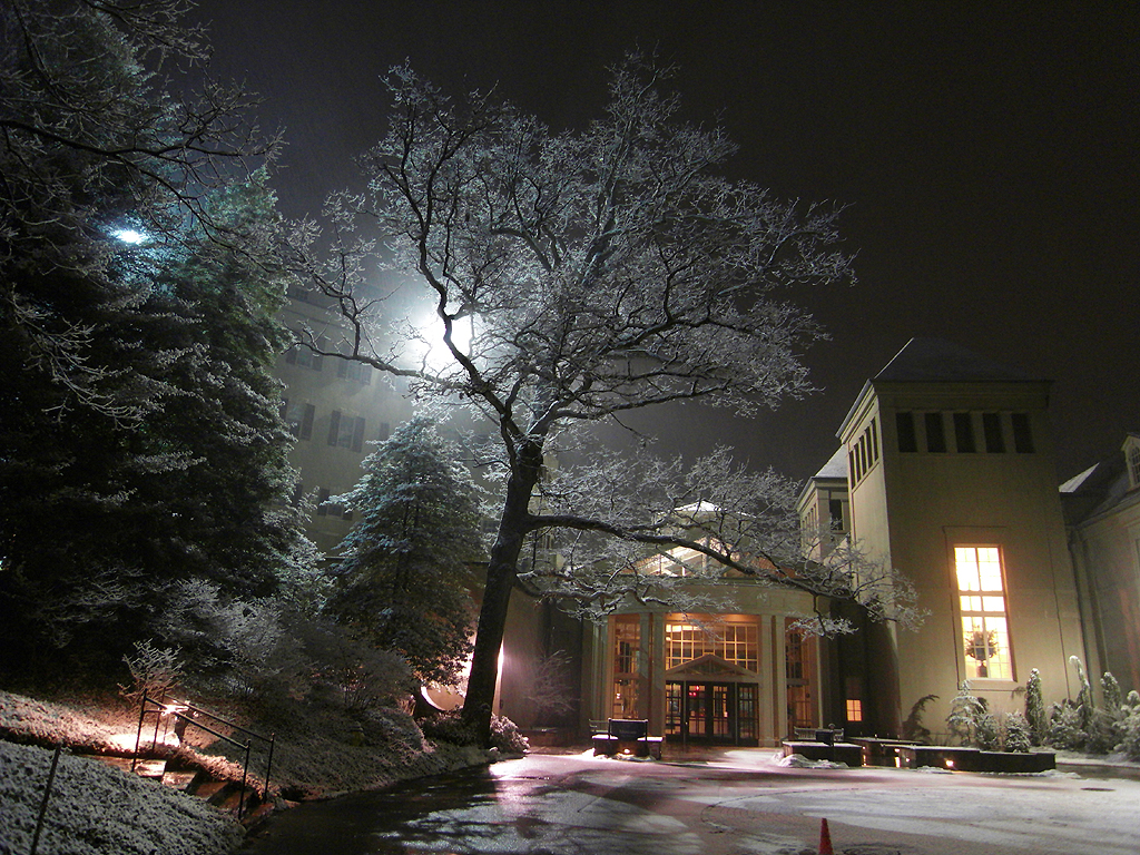 Winterthur snowy night 2