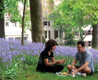 picnic at Winterthur