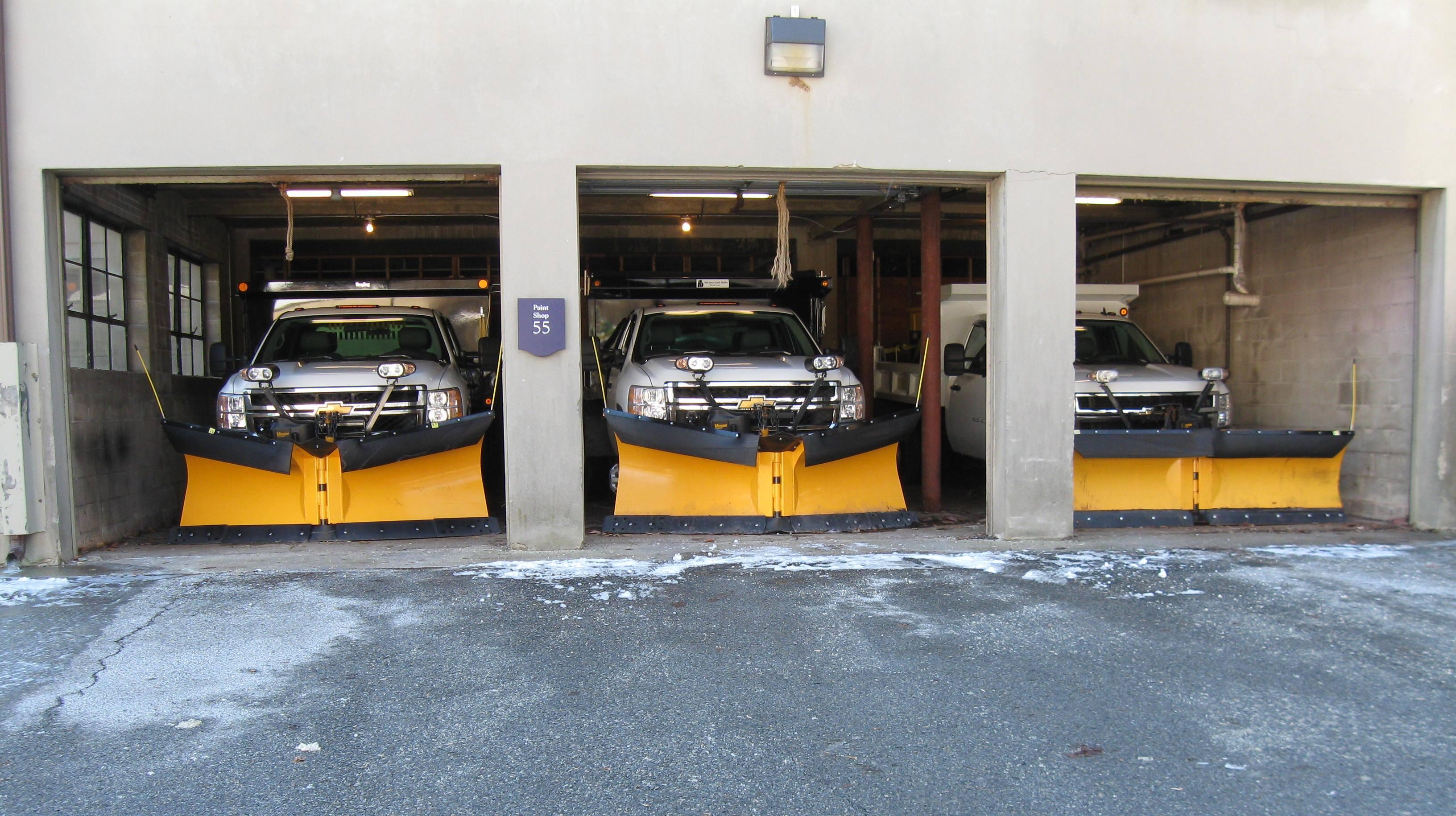 Winterthur snow fleet; ready to roll!