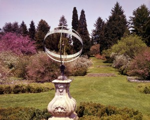 4-23 Sundial Garden 1965