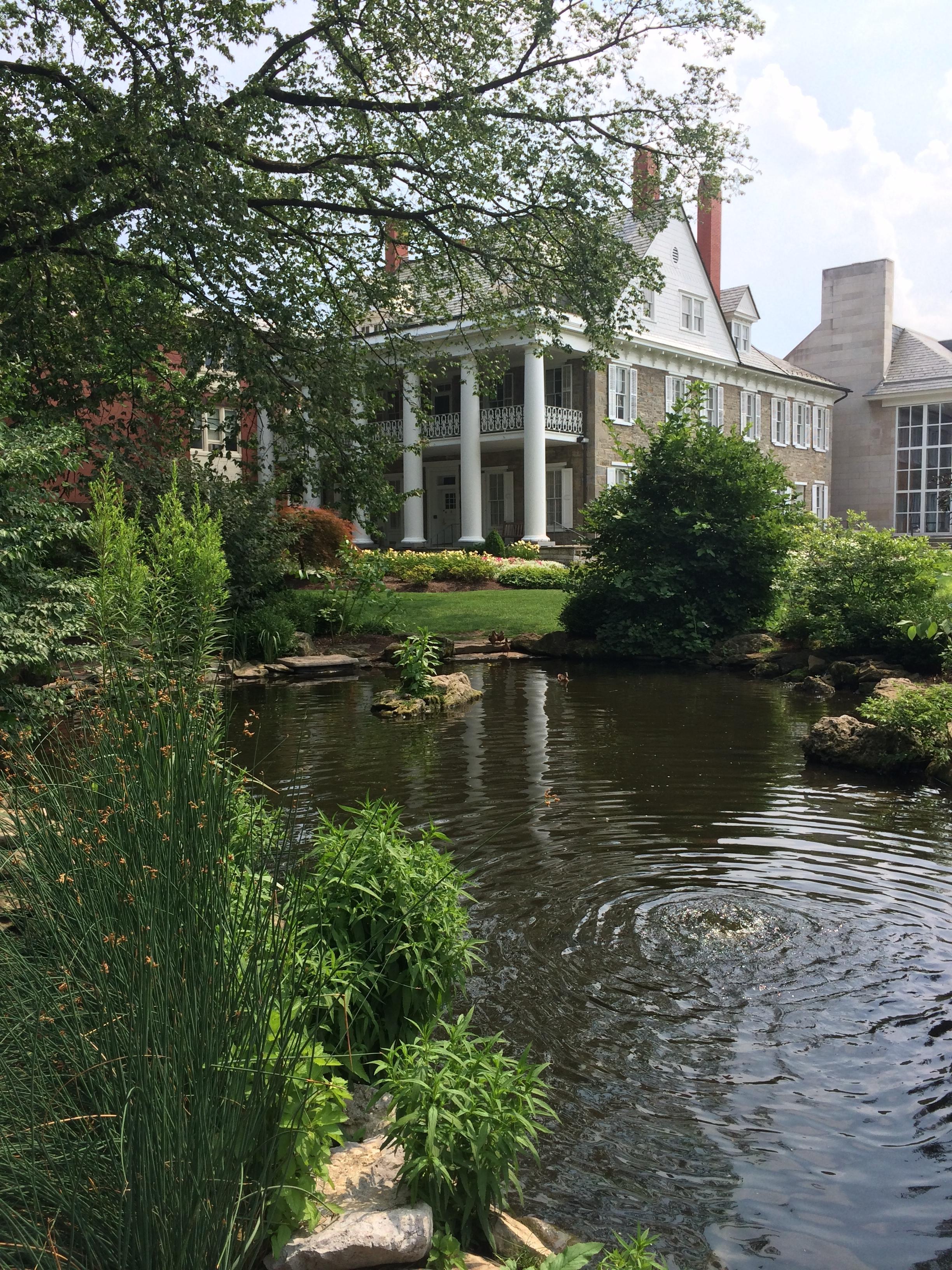 Water Garden on Penn State Campus