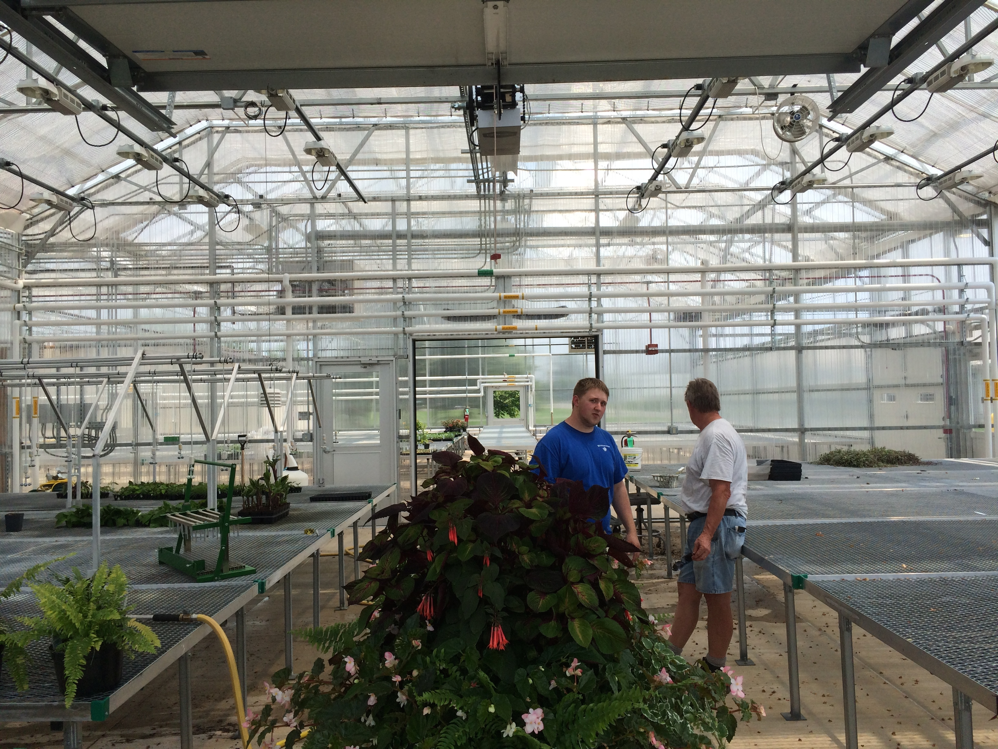 Greenhouses on Penn State Campus