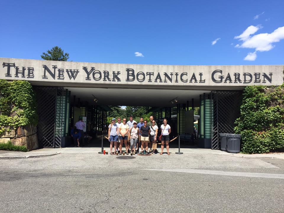 Winterthur Staff at NYBG Entrance