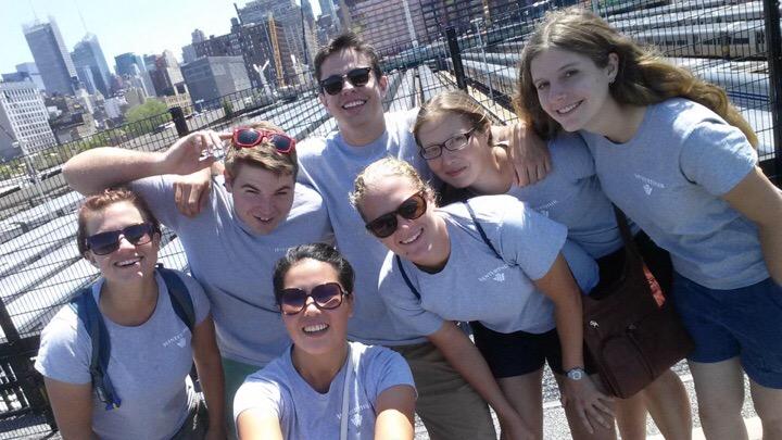 Intern Selfie on the High Line