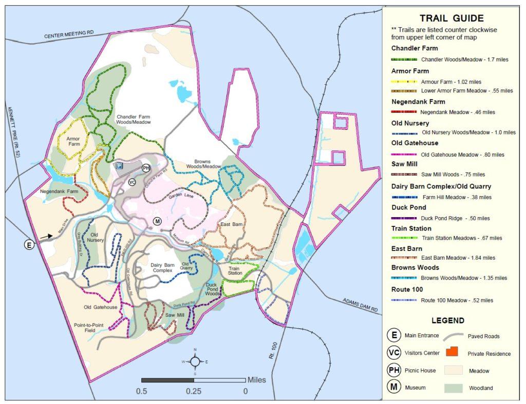 Trail Map Snapshot